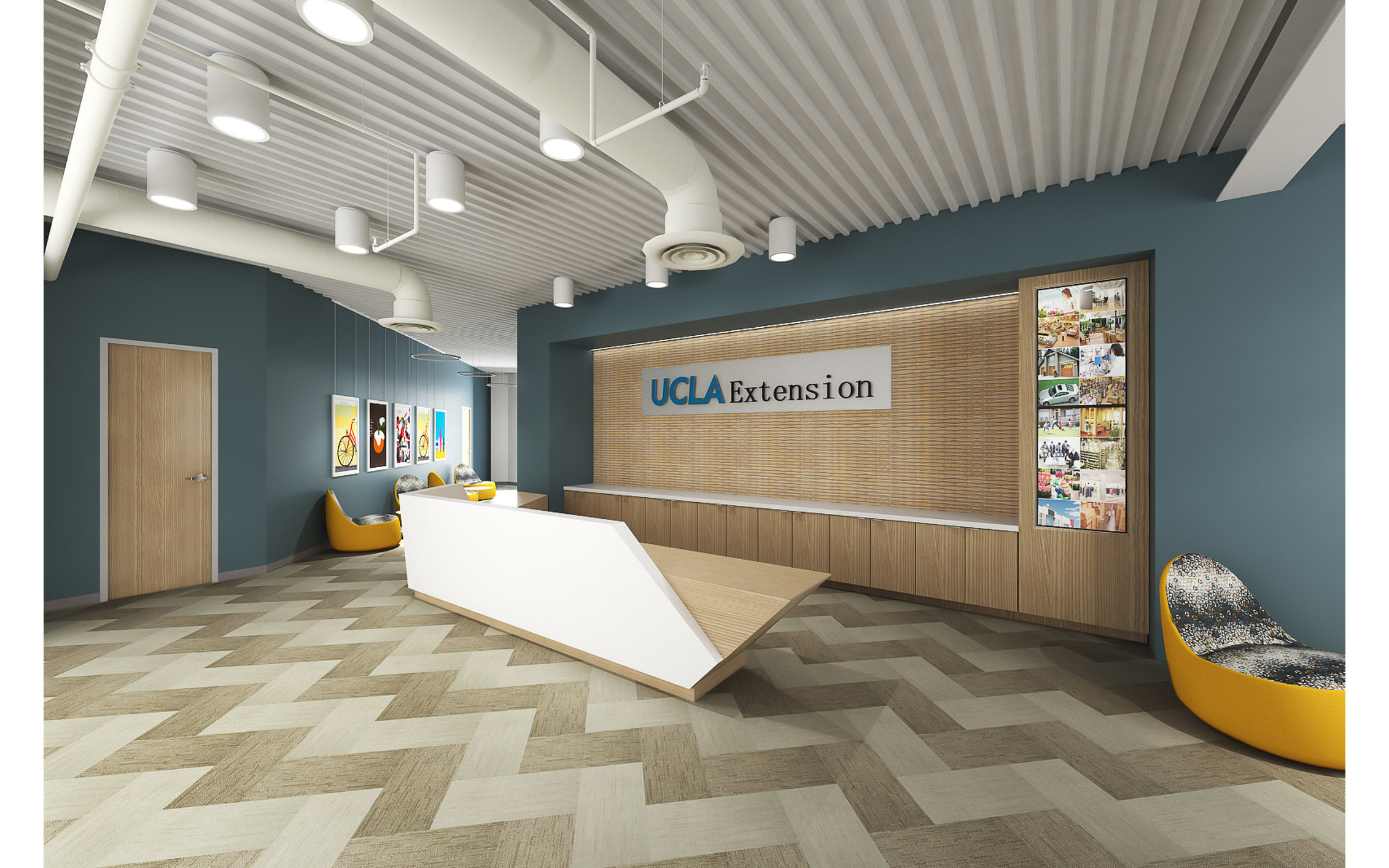 The new state-of-the-art UCLA Extension Woodland Hills location. (PRNewsfoto/UCLA Extension)