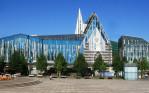 Universit酹 Leipzig Campus Augustusplatz Augusteum und Paulinum Baustelle / Paulinum mit Bauger�t