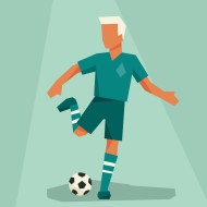 soccer-player-in-flat-design-style-vector-2196689